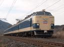臨回電第9568M列車 583系6連[秋アキ]@西平内〜小湊 2009/12/05 11:33