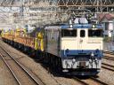 臨工第9862列車 EF65 1106[田]-チキ10両<B>@松戸〜金町 2011/03/26 12:07